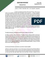 HO 29 - Civil Law - Prescription.pdf