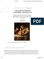 Rebecca Mead. A Fuller Picture of ArtemisiaGentileschi