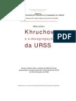 Khruchov e a desagregação da URSS
