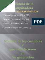 Historia de La computadora Ricardo Barrios