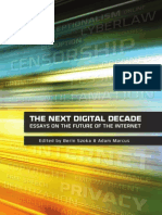 The Case for Internet Optimism Part 1 - Saving the Net From Its Detractors (Adam Thierer)