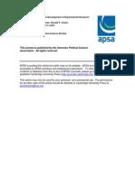 El crecimiento y desarrollo de la investigación experimental en política
