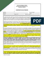 CONTRATO DE ESTUDIANTES