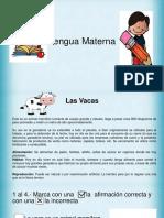 Diagnóstico Lengua  materna