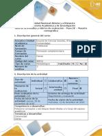 Guía de actividades y rúbrica de evaluación de danza - Paso 4 - Muestra coreográfica.pdf