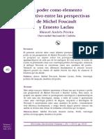 El Poder en Laclau y Foucault
