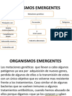 ORGANISMOS EMERGENTES