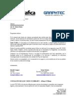 FORMATO DE COTIZACION PLOTTER DE CORTE - GRAPHTEC FCX2000-60VC