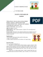 Euritmie-dansul popoarelor   6.05.2020