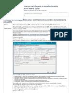 Como configurar as cobranças cartão para o reconhecimento automático de bandeiras na rotina 2075_ - PC Sistemas - TDN