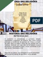 HISTÓRIA DAS RELIGIÕES - JUDAÍSMO (DIEGO BRUNO)