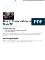 How to Create a Colorful Re..
