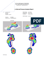 Dynamic Gait and Pressure Analysis Report