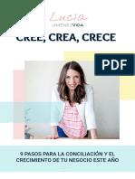 CREE, CREA, CRECE