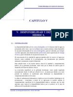 Capitulo V - Disponibilidad y Demanda Hídrica.doc