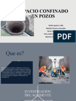 DIAPOSITIVAS INV. ACCIDENTE ESPACION CONFINADOS POZO