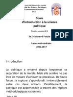 science politique
