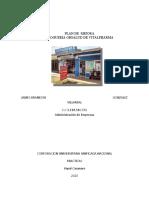 PLAN DE MEJORAMIENTO DROGUERIA OBSALUD DE VITALPHARMA