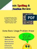 ABasicSpellingandPunctuationReview