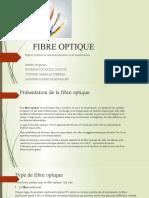 FIBRE OPTIQUE exposé