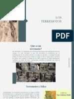 Capitulo 11  Los Terremotos