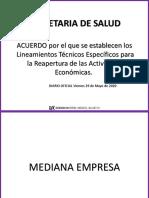 Lineamientos Técnicos Específicos para la Reapertura de las Actividades PDF.pdf