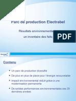 Que fait Electrabel concrètement pour l'environnement?
