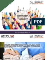 Presentacion Pruebas Central Test y Monroy