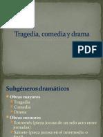 tragedia comedia dram  8vo