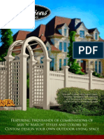 Illusions PVC Fence