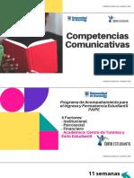Presentación asigantura semana 1 - Competencias Comunicativas