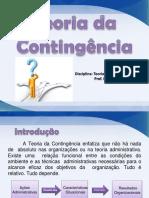 Aula 4 - Teoria da Contingência