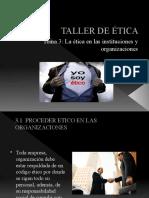 TALLER DE TICA
