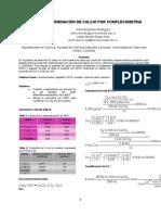 DETERMINACIÓN DE CALCIO POR COMPLEXOMETRIA(grupo 2)NOTA