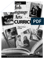 English Curriculum Arts High School