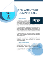 REGLAMENTO DE JUMPING BALL