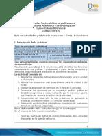 Guia de actividades y Rúbrica de evaluación - Unidad 1 - Tarea 1 - Funciones.pdf