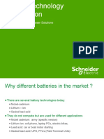 Battery Technology Comparison & ADVC Battery Test-R1.01-100302-LV