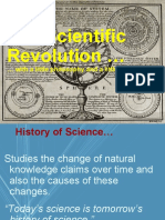 The 16th Century Revolution in Science