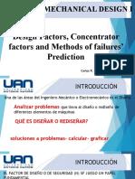 7. Design Factor a Prediction failures