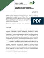 As representações dos casais homossexuais sob a perspectiva heteronormativa no Globo Repórter (REPRESENTAÇÕES DE GÊNERO)