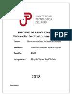 INFORME DE LABORATORIO3