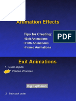 PowerPoint Advanced Animation Techniques