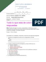 Samuel Fernando Giraldo evaluacion español