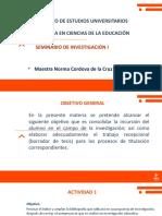 Presentación 1 Estructura total de la tesis