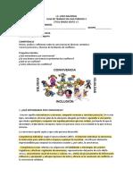 CONVIVENCIA Y CONFLICTO (2)