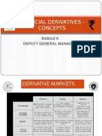 CENTRAL BANKING-  ALL DERIVATIVES OVERVIEW-BASICS