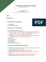 ESTRUCTURA - INTERVENCIÓN DE DO