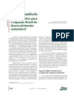 Biocombustíveis Reais questões para a equação Brasil de desenvolvimento sustentável