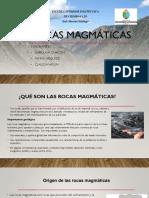 1. Rocas Magmáticas